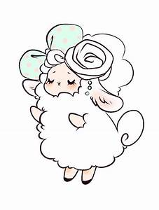 Sheep, Lamb and Kawaii on Pinterest