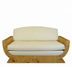 art deco sofa art deco furniture With creme reparatrice canape cuir