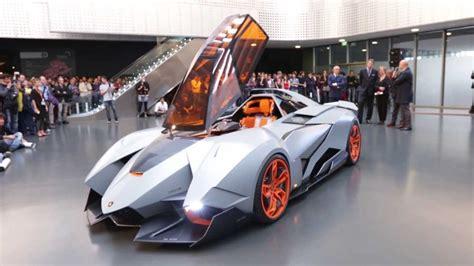 Presentazione Lamborghini Egoista (mauto