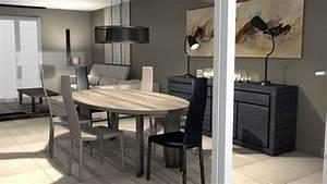 Décoration Salon Moderne Salle à Manger : architecte livre garage pour modernisation maison ~ Teatrodelosmanantiales.com Idées de Décoration