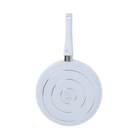 iko crema collection ceramic  stick fry pan dishwasher safe   blue buy