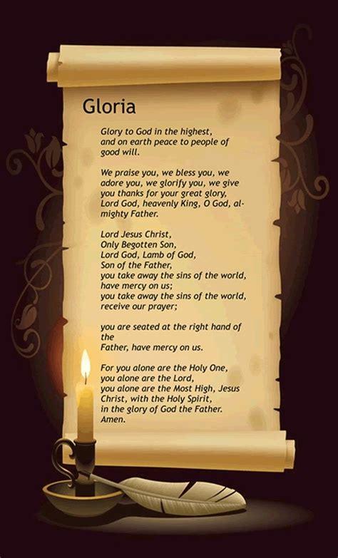 gloria  images novena prayers catholic catholic