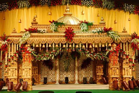 unique  traditional indian wedding mandap decoration