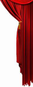 Curtain picture transparent isolated background free for Blue theatre curtains png