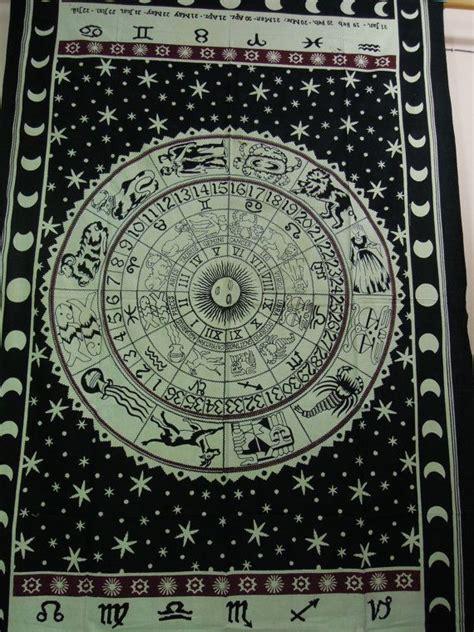 Zodiac Bedroom Decor by Horoscope Tapestry Indian Tapestry Astrology Zodiac