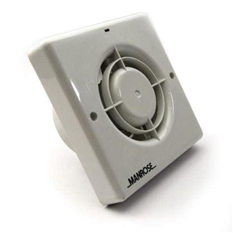 Manrose Bathroom Extractor Fan Timer Humidistat