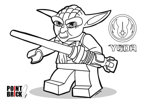 Lego Coloring Pages Star Wars - Eskayalitim