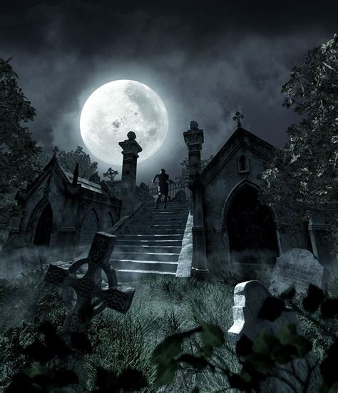 deck the 39 s what makes the graveyard a spooky and scary place