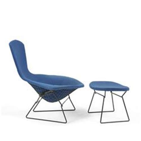 harry bertoia bird chair and ottoman