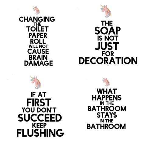 but true diy bathroom free printable nerdy mamma