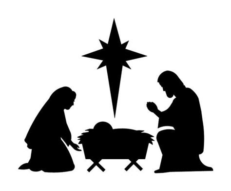 nativity scene stencils the gallery for gt nativity template to cut out