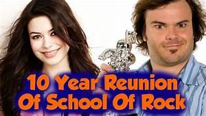 MIRANDA COSGROVE & JACK BLACK AT THE SCHOOL OF ROCK ...