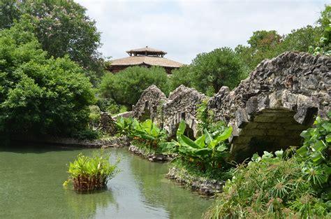 san antonio japanese tea garden botanic garden in san