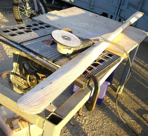 eskimo style kayak paddle   scrap wood