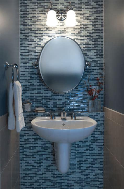 powder room with pedestal sink decorating ideas 23 banheiros pastilhas lindas arquidicas Powder Room With Pedestal Sink Decorating Ideas