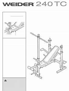 Weider Home Gym 240 Tc User Guide