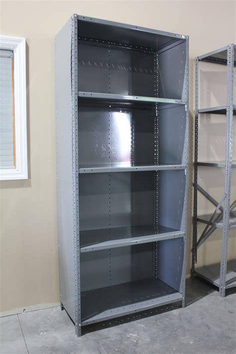 Closed Steel Shelving Metal Shelving Units