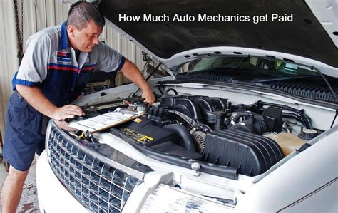 Auto Mechanic Career Information by Discover How Much Auto Mechanics Get Paid Car Repair