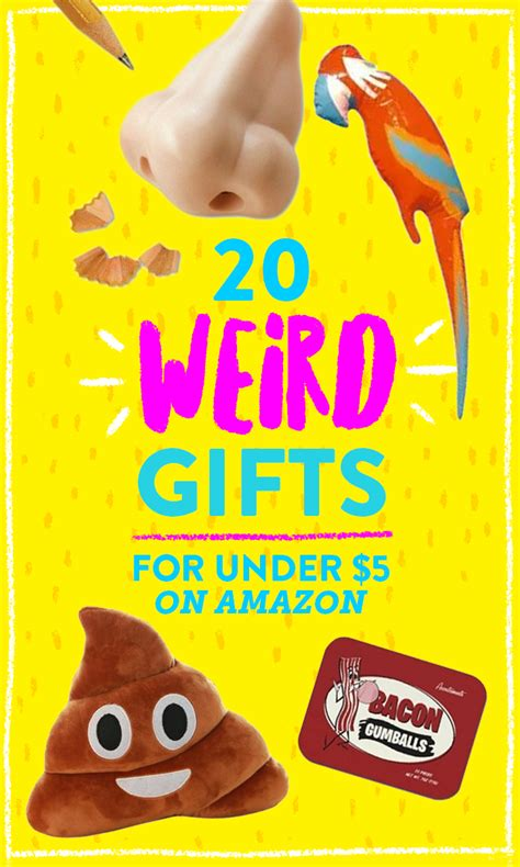 bizarre gifts    amazon