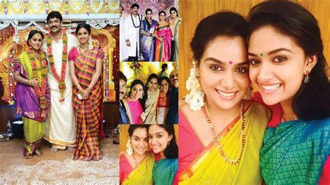 tamil actress keerthi suresh mother photos actress keerthi suresh family photos youtube