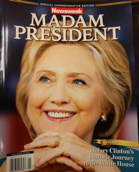 hillary clinton cover fact check madam president hillary clinton newsweek cover