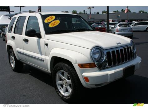 jeep liberty white 2005 stone white jeep liberty limited 4x4 33936280