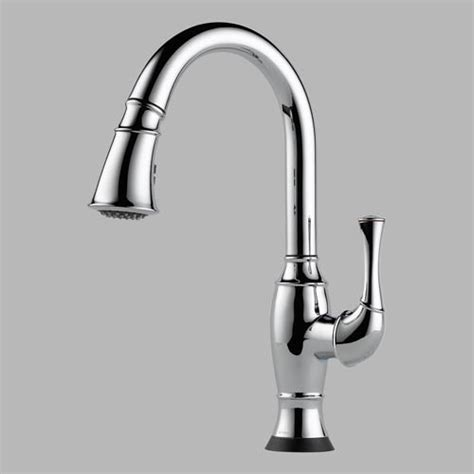 pictures of kitchen faucets and sinks 64003 brizo talo single handle pull kitchen faucet 9109