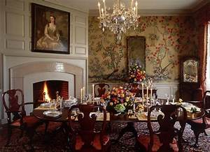 Historic Colonial Interiors Bing Images Dining Room
