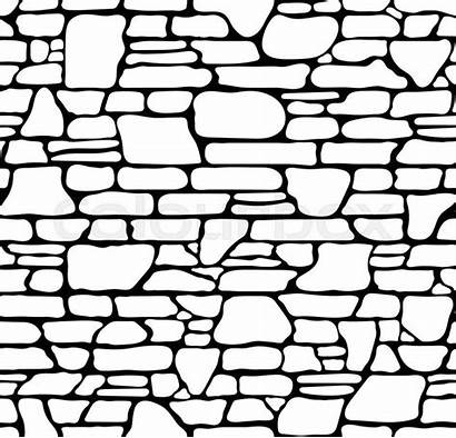 Stone Texture Vector Seamless Brick Wall Illustration