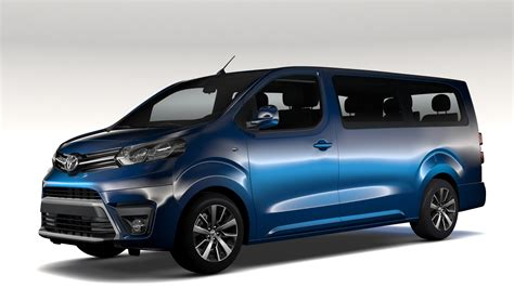 buy right furniture toyota proace verso l3 2017 3d model buy toyota proace
