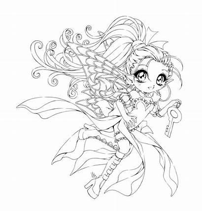 Deviantart Sureya Coloring Pages Fairy Chibi Adult