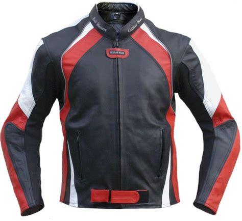 black motorbike jacket german wear leather motorcycle motorbike cowhide combi