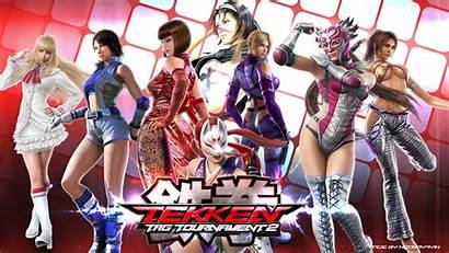 Tekken Nina Williams Kazama Anna Asuka Christie