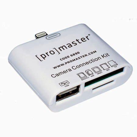 promaster camera connection kit  ipad  ipad mini