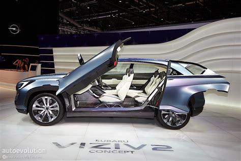 subaru viziv doors subaru viziv 2 concept previews the future at geneva 2014