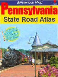 barnes and noble altoona pa pennsylvania state road atlas by adc the map