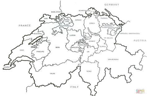 ausmalbild schweizer karte inm umriss ausmalbilder