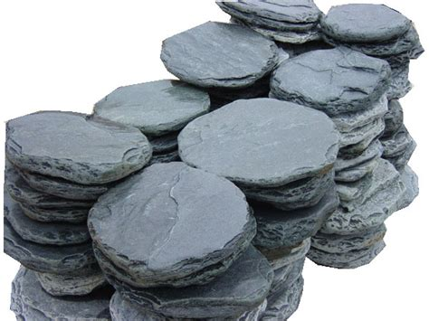slate stepping stone quartzite  pavers sandstone tumbled stepping stone