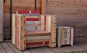 Plan Meuble Palette : mobilier en palette de bois ~ Dallasstarsshop.com Idées de Décoration