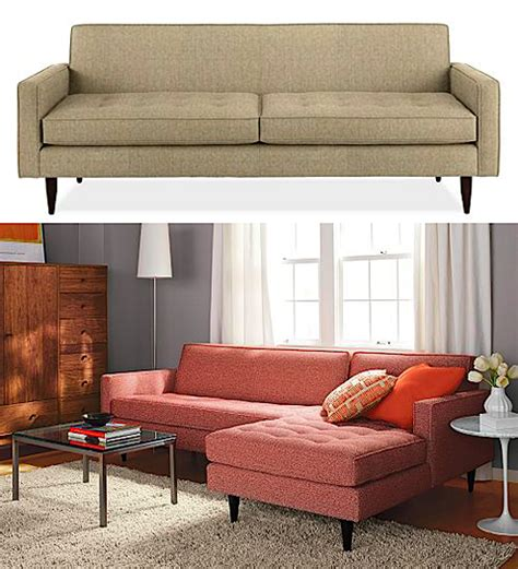 Room And Board Loveseat by Room And Board Sofas Chelsea Sofas Modern Living Room