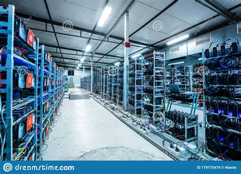 Iceland has geothermal power which efficiently. Bitcoin And Crypto Mining Farm. Big Data Center Stock Image - Image of center, monero: 179775479