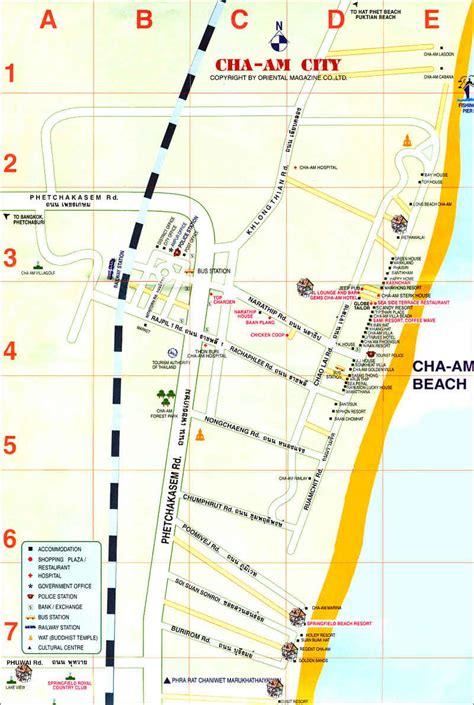 maps  thailand chaamorg