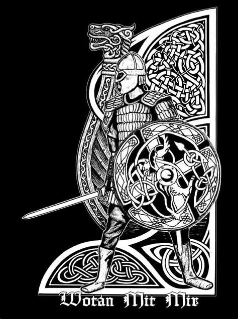 Pin by Ronald Gonzalez on Things to Wear | Norse tattoo, Viking art, Celtic tattoos
