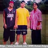 Roman Reigns And The Usos Football | 526 x 522 jpeg 44kB