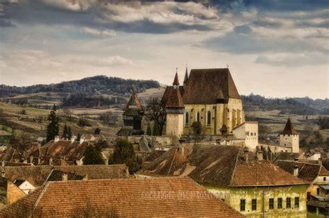 medieval landscape  biertan travel photographs