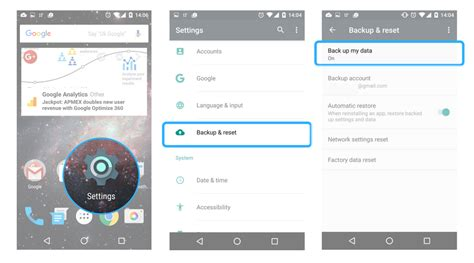 the cloud for android cloud backup android