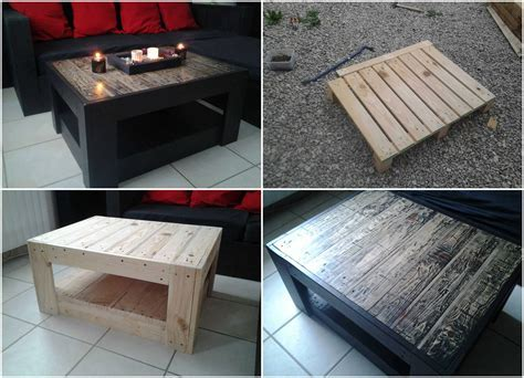 Table Basse En Palette ? 1001 Pallets