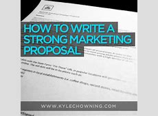 Marketing Proposal Template [FREE Download] Kyle Chowning
