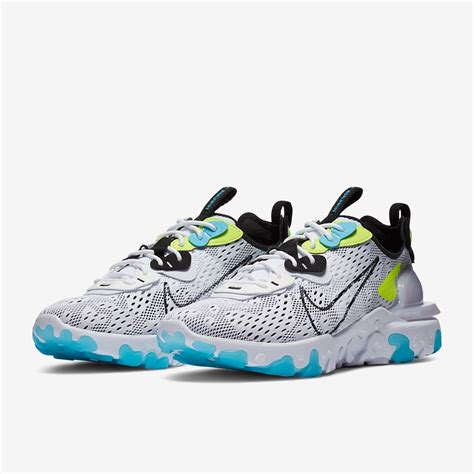 Shop nike react vision online now at jd sports buy now, pay later spend £70 for free delivery 10% student discount. Nike React Vision - White/Black/Volt/Blue Fury - Trainers ...