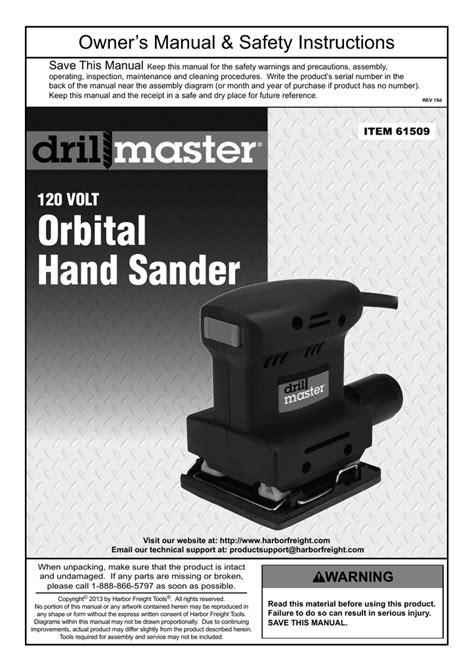 Drill Master Palm Sander Parts | Reviewmotors.co